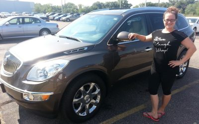 PAID $13,900 FOR A $17,077 BUICK ENCLAVE