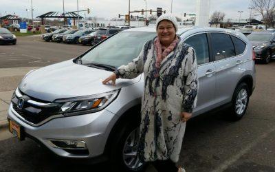 SAVED  $4,676  ON  A  HONDA CR-V,  EX AWD